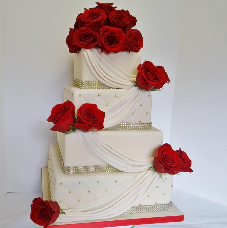 Bling Wedding Cakes, Classic Wedding Cake