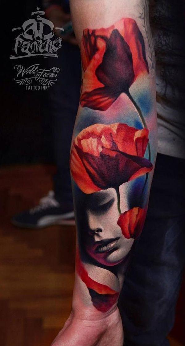 Face Sleeve Tattoo: 70 Eye-catching Sleeve Tattoos