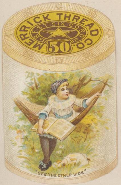 thread Advertising Trade card Merrick hammock | AdTrade ...