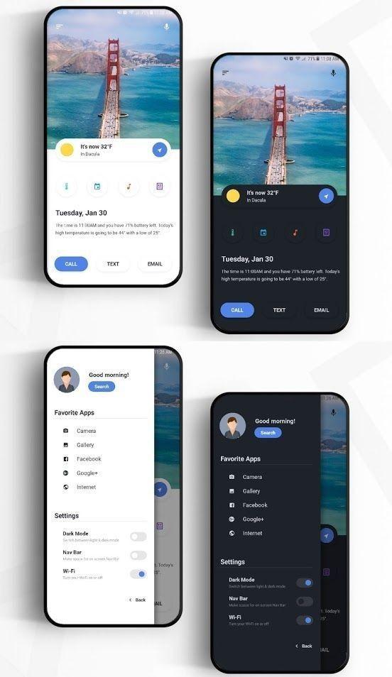 Mobile Flat Design inspiration