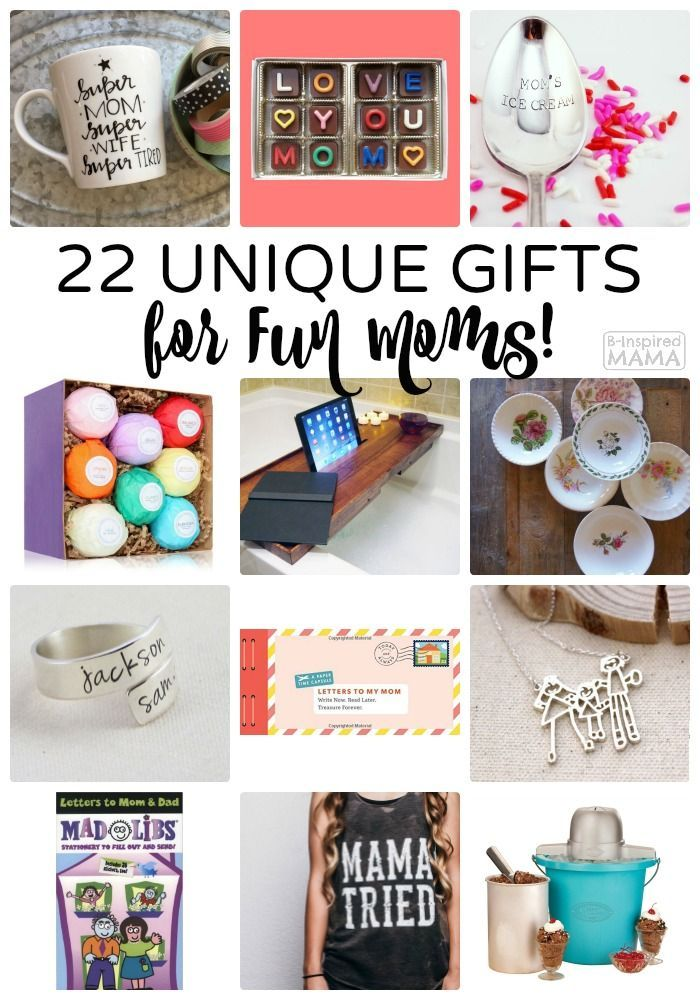 2016 Mother S Day Gift Guide 22 Unique Gifts For Fun Moms