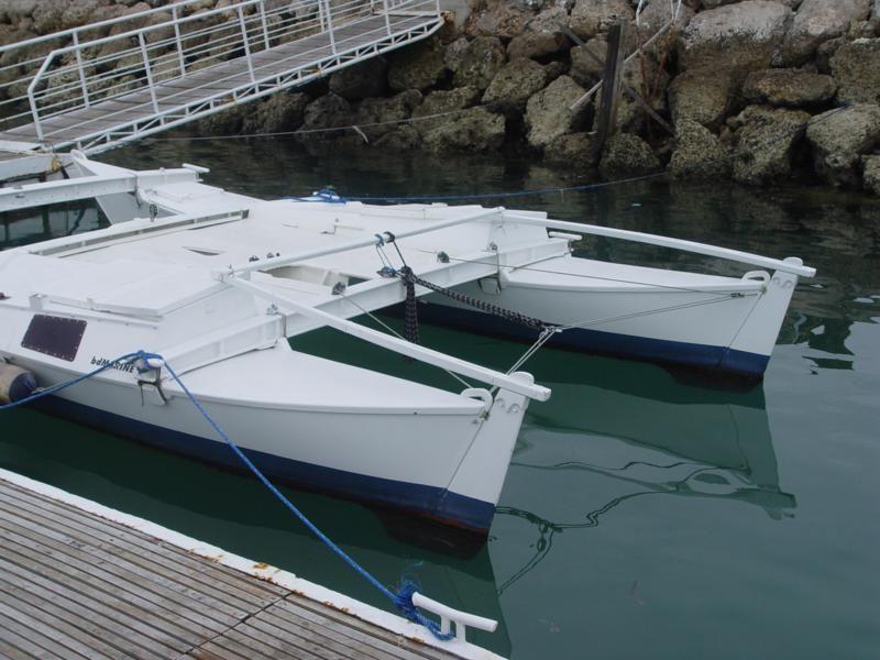 Biagi Tiki 21 No. 779 Boat building, Catamaran, Boat