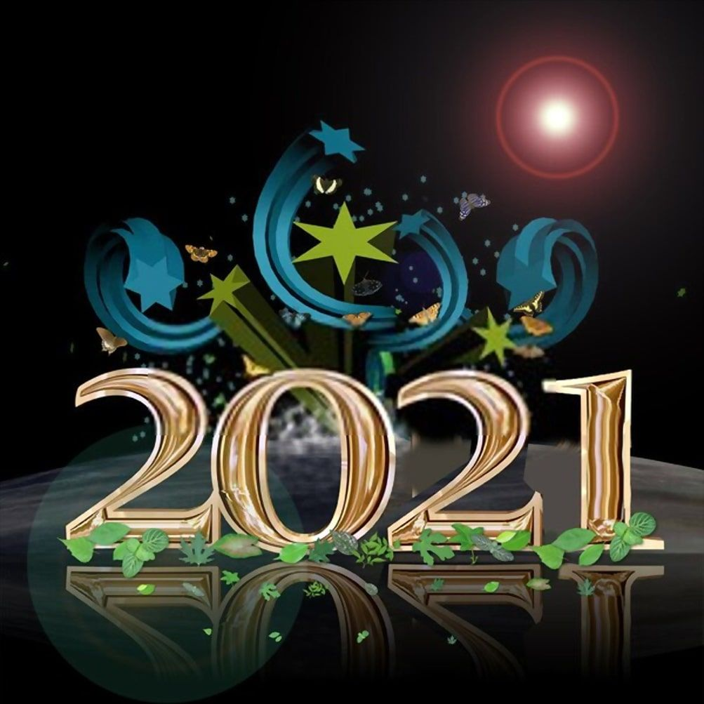 2021 Happy New Year Images, Wallpaper in 2020 Happy new
