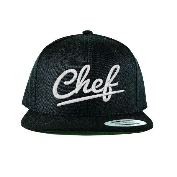 804eb44b38c Flat Bill Urban Chef Snapback Hat