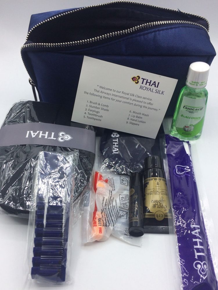 New Release Greyhound Amenity Kit From Bussiness Class Thai Airway