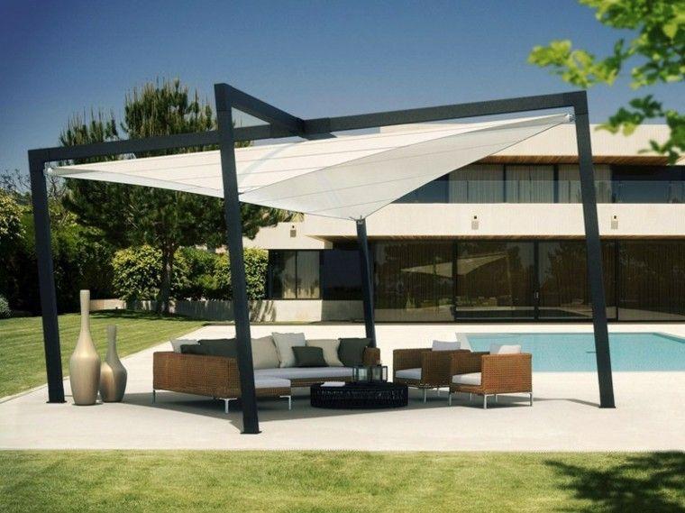 Ideas para decorar y diseñar espacios exteriores impactantes Deck - markisen fur balkon design ideen