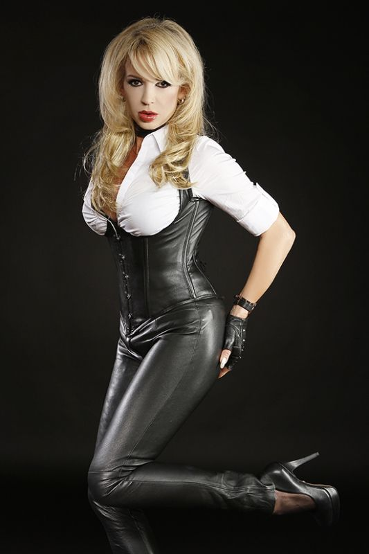 Leather Corset and Pants Find similar products and more at