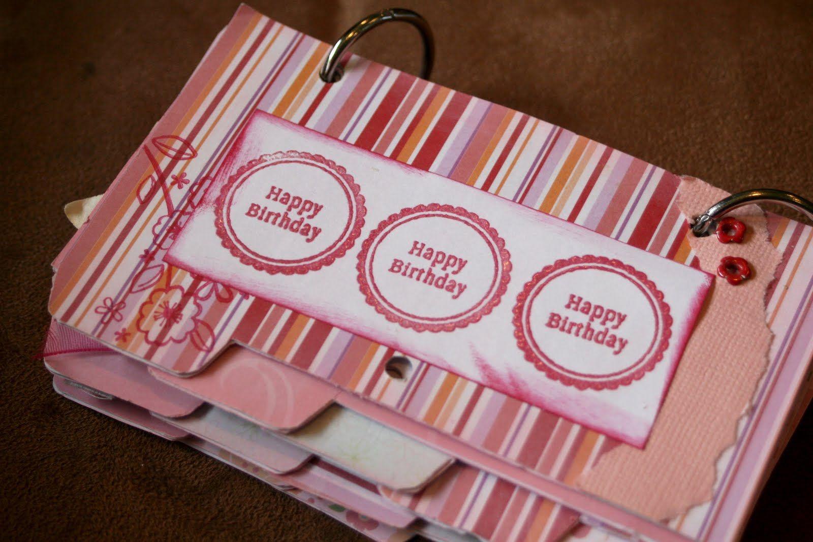 On My Side of the Room: Recipe Card Birthday Calendar