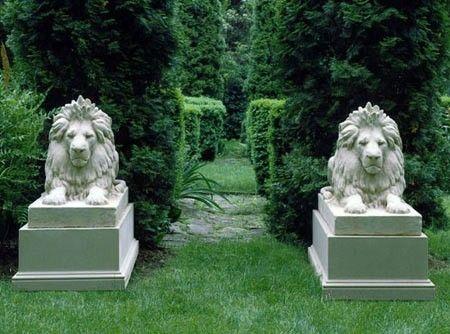 Lion Of Hadrian Garden Statues