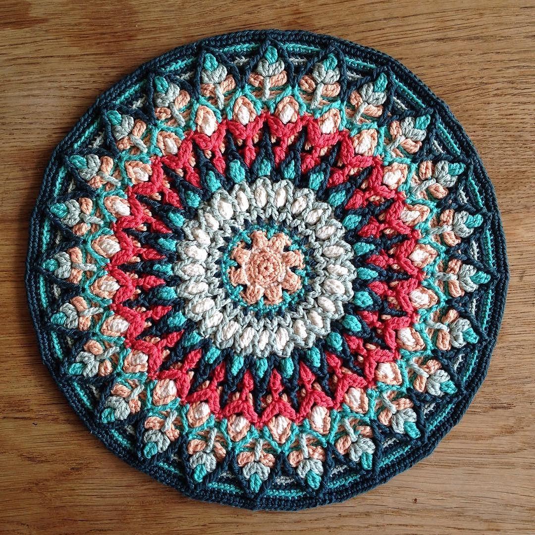 Ravelry: Spanish Mandala Pillow overlay crochet by ...