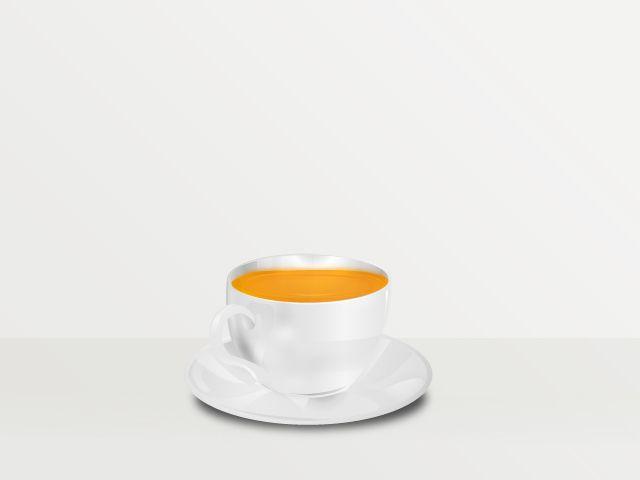 Tea cup Vector  illustration Beno Ramirez