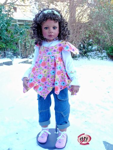 """Masterpiece doll, Taylor.  40"""" vinyl ball jointed doll"""