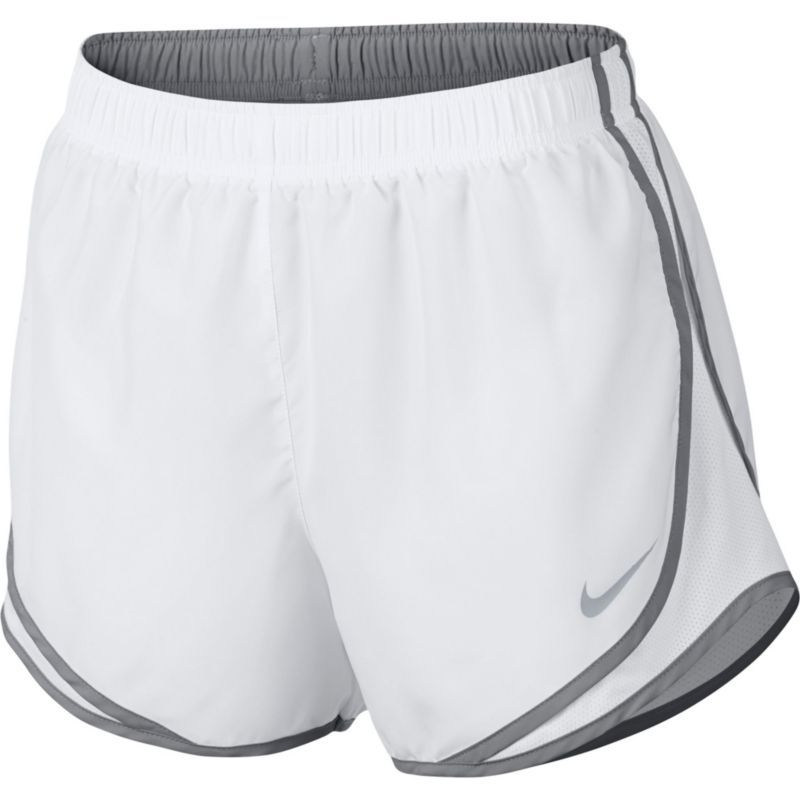 best sneakers d417a 3dec8 Nike Women s Dry Tempo Running Shorts, Size  Small, White