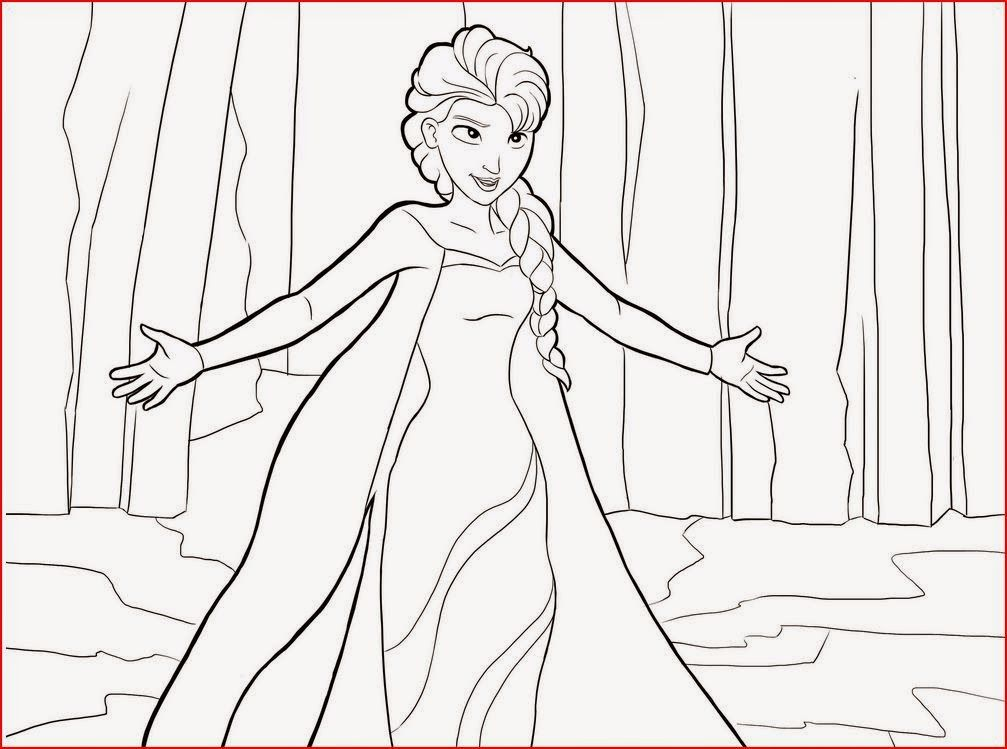 Princess Elsa Coloringfilminspector
