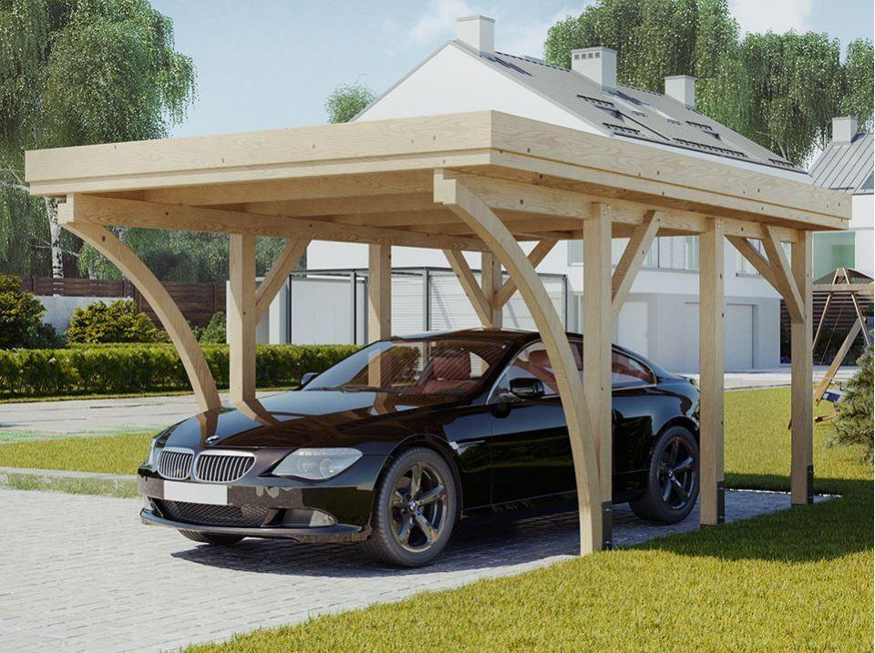 Carport 1 voiture PALERME 340 x 510 cm Decoration