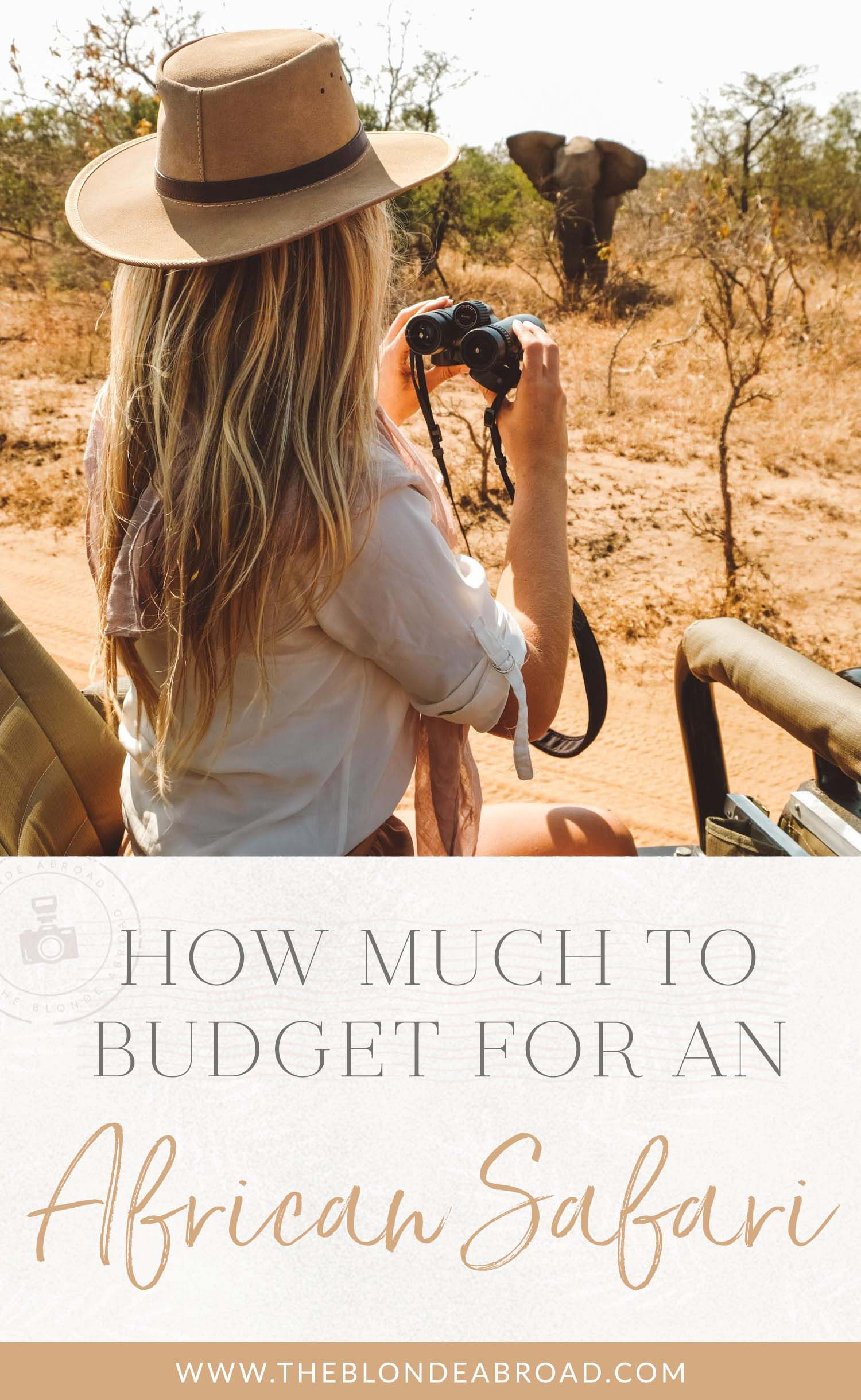 how much to budget for an african safari