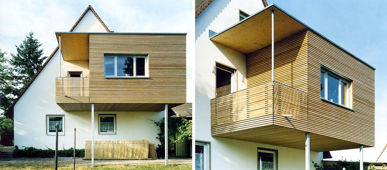 Erweiterung Einer Doppelhaushälfte In Modularer Bauweise Aus Holz. Mehr  Infos Unter Www.brett Holzbau.de