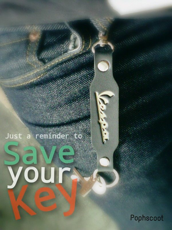 Vespa keychain, hand made by pophscoot #pophscoot