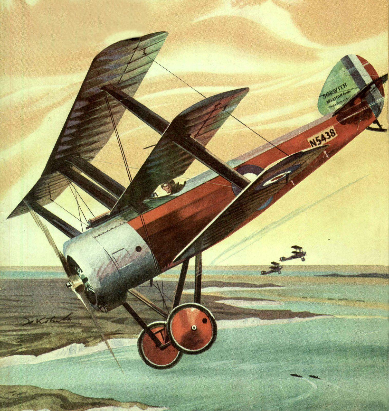 Sopwith Triplane by Jo Kotula | lietadla wwl | Pinterest | Aviation ...