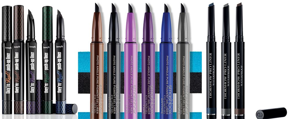 Ss15 Makeup Gel Eye Liners In A Pen Form Smashbox Photo Angle Pure