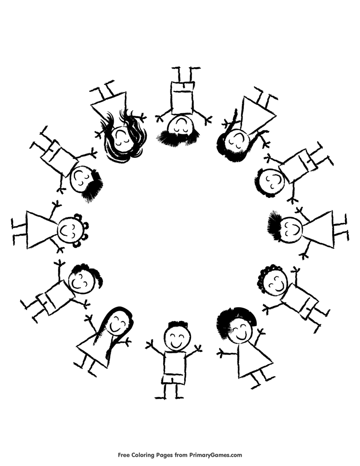 Martin Luther King, Jr. Day Coloring Pages eBook