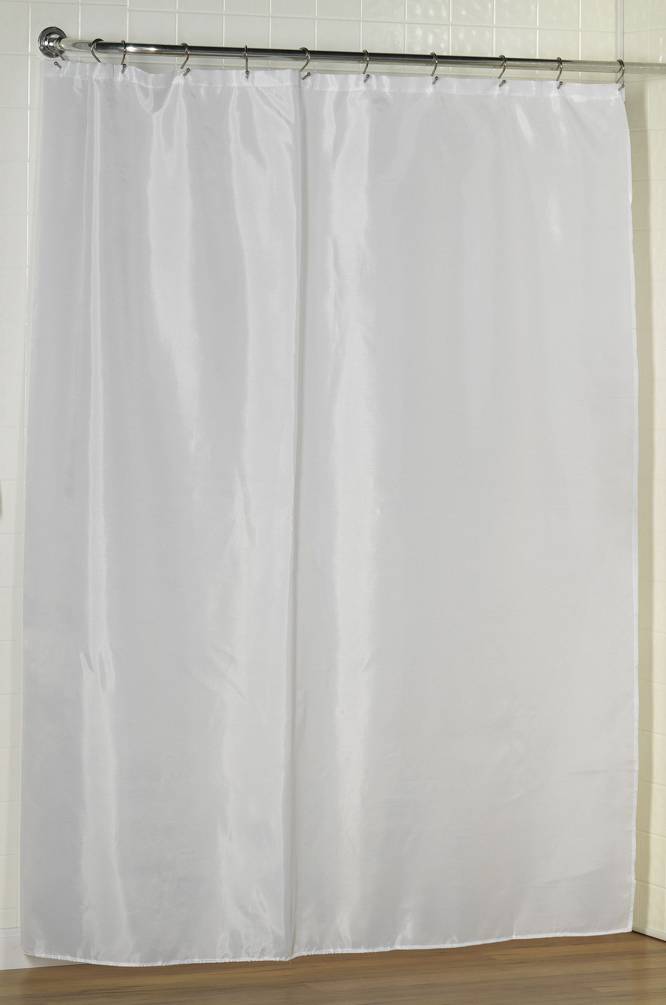 Single Shower Curtain Liner Long Shower Curtains Fabric Shower