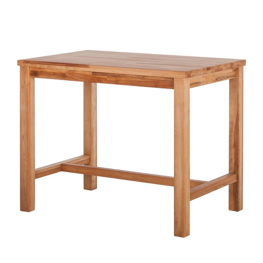 table de bar iris h tre massif huil largeur 120cm table haute cuisine pinterest. Black Bedroom Furniture Sets. Home Design Ideas