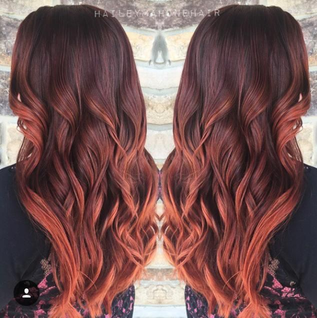 pumpkin spice hair color hailey