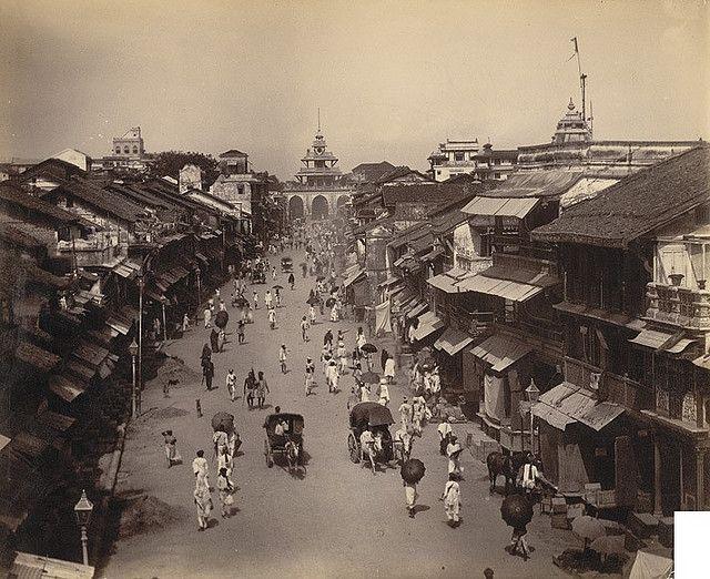 M.G. Road, Baroda, British India (1890)