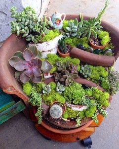 broken-pot-fairy-garden-19                              …