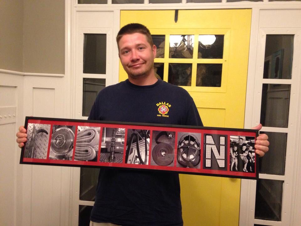 The perfect gift for any Firefighter! Display with pride your name, engine company, etc. MADE BY A FIREFIGHTER, FOR FIREFIGHTERS! #firefighter