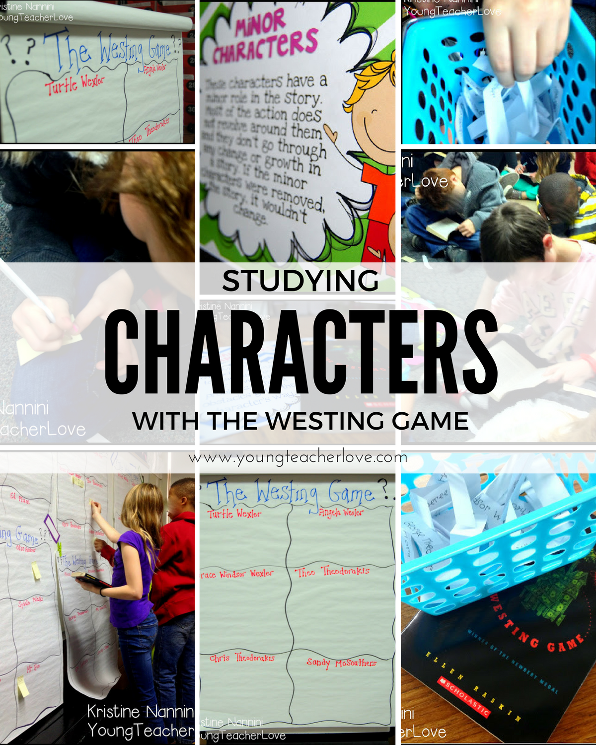 Character Study Part 1 Using The Westing Game To Study