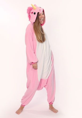 Kigurumi Shop | Pink Unicorn Kigurumi - Animal Costumes