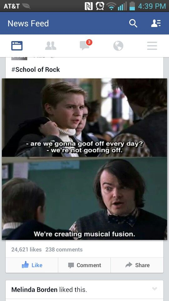 How i feel in band class