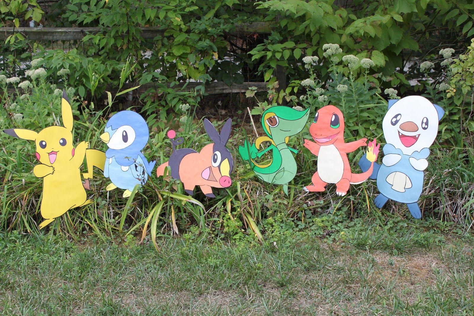 Pokemon garden decorations | DIY and crafts | Pinterest | Pokémon ...