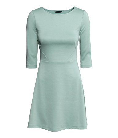6c08c9aa6b82 Jersey Dress | H&M US | dress - s/s | Dresses, Dresses with sleeves ...