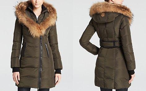 125e97ec4f2e Mackage Kay Lavish Down Coat with Fur Trim