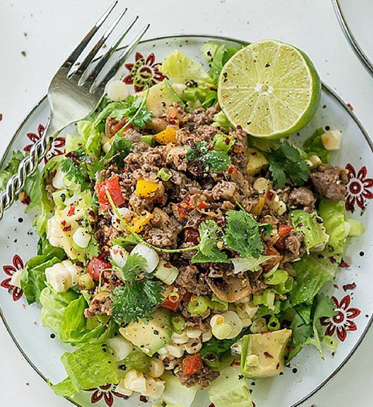 Healthy Mexican Recipes: mouth-watering taco salad recipe!