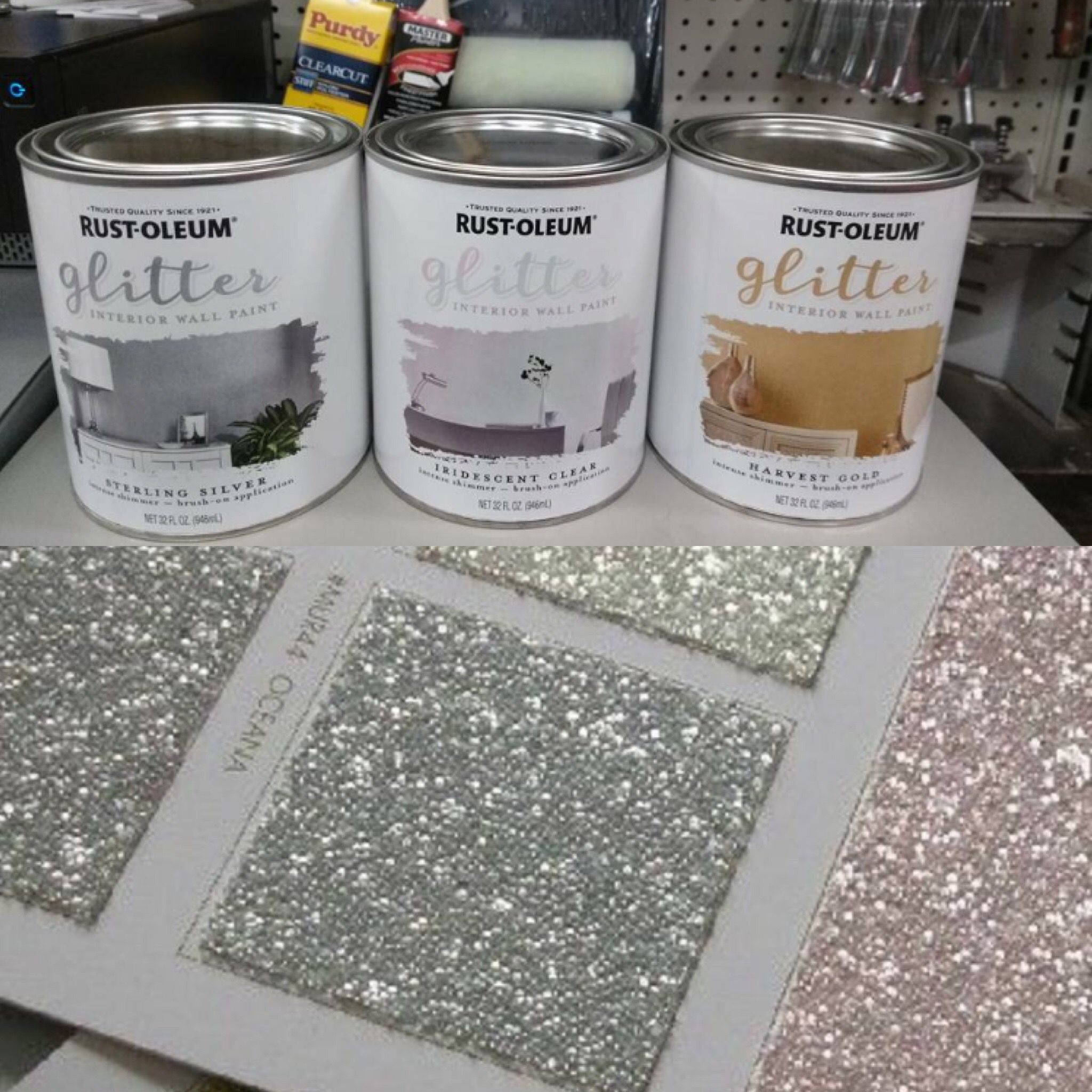 Best 11 Sparkly Glitter Paint Now Available For £9 Wilko