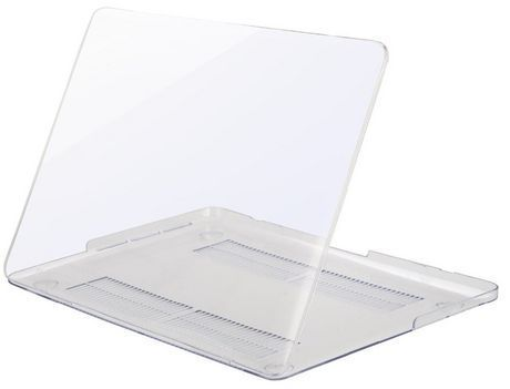 "Exian MacBook Pro 15.4"" Silicon Keyboard Cover and Plastic Transparent"