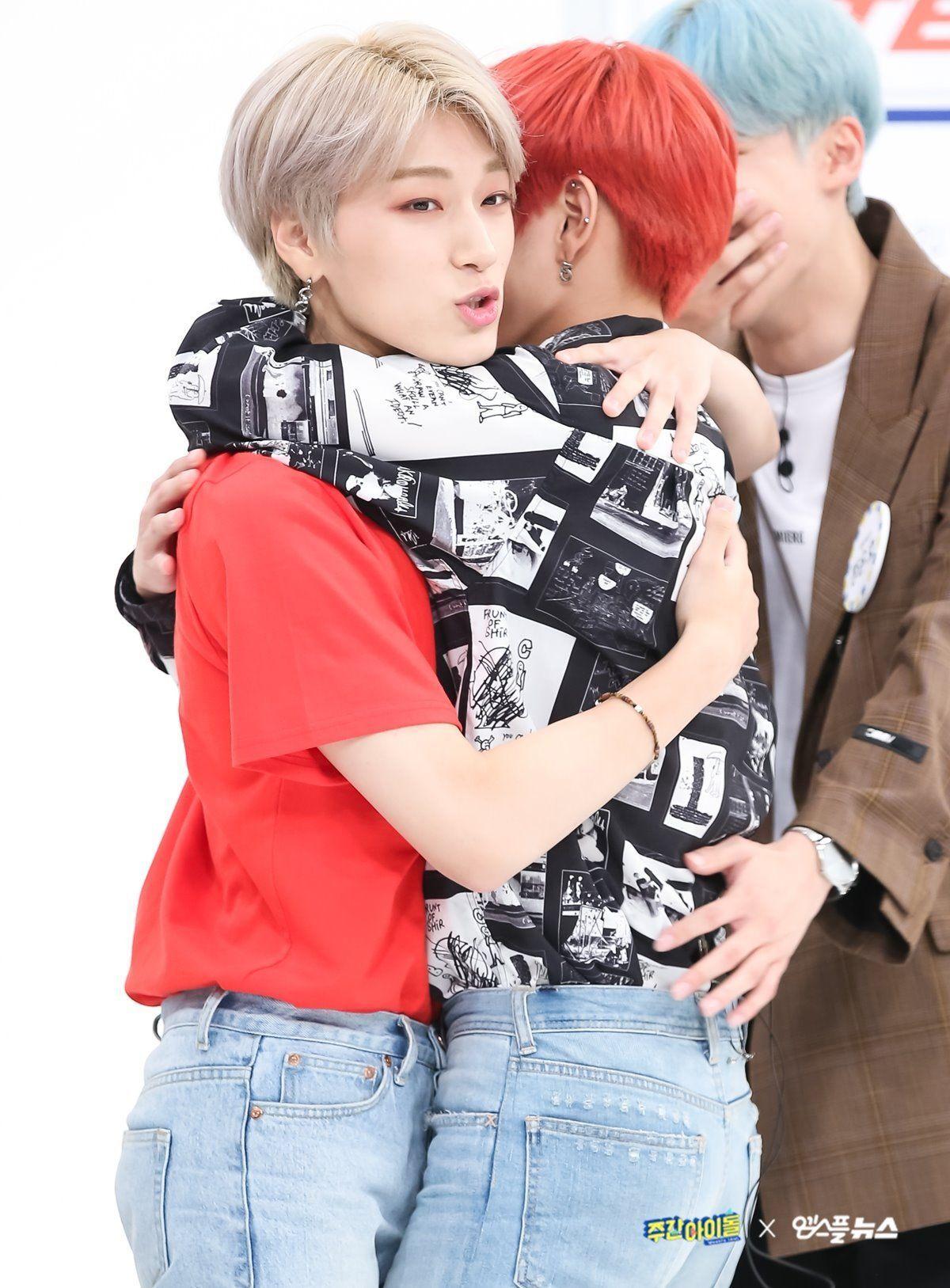 Ateez San Hongjoong Idol Weekly Idol Appearance Ateez Atiny Wooyoung San Seonghwa Hongjoong Mingi Yunho Jongho Woo Young Weekly Idol Latest Albums