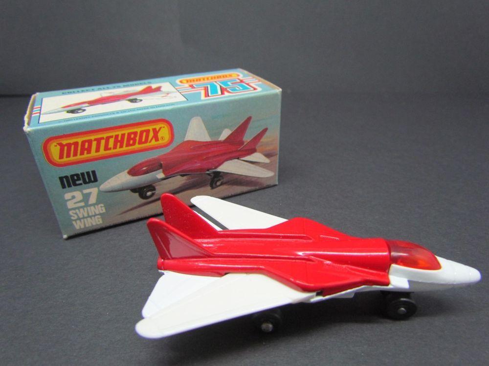Autos, Lkw & Busse Swing Wing 1981 Modellbau Matchbox Jet Set