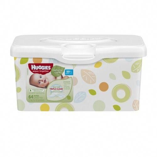 Huggies 174 Natural Care Fragrance Free Baby Wipes Baby