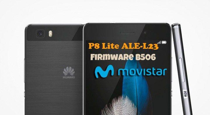 Huawei P8 Lite ALE-L23 Firmware B506 (Movistar) | Ministry