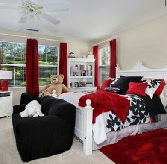 Red Black And White Bedroom Decor Male Bedroom Art Bedroom Ideas Violet Bedroom Stools And Chairs: Bedrooms/houses/dreams