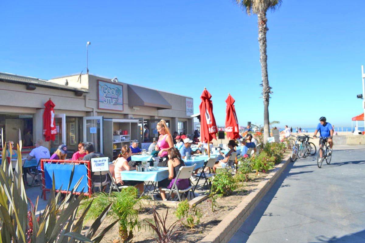 Good Stuff restaurant Hermosa Beach Good Stuff