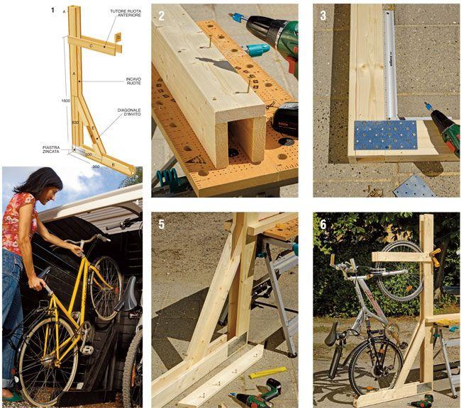 Box per biciclette box bici box fai da te bon bici fai da te deposito bici costruire un box - Box bici da giardino ...