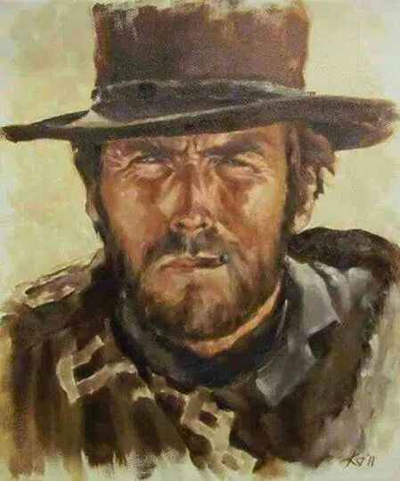 Clint Eastwood art