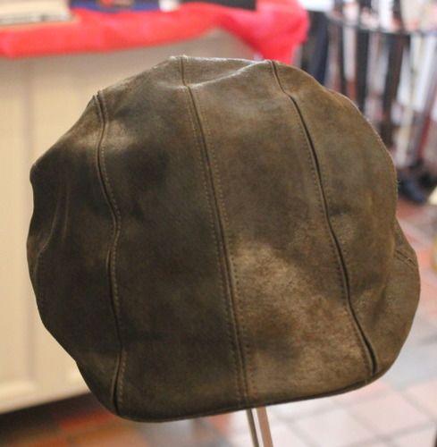 Eureka Stockade Roma Leather Flat Cap  4085d0c6dbe