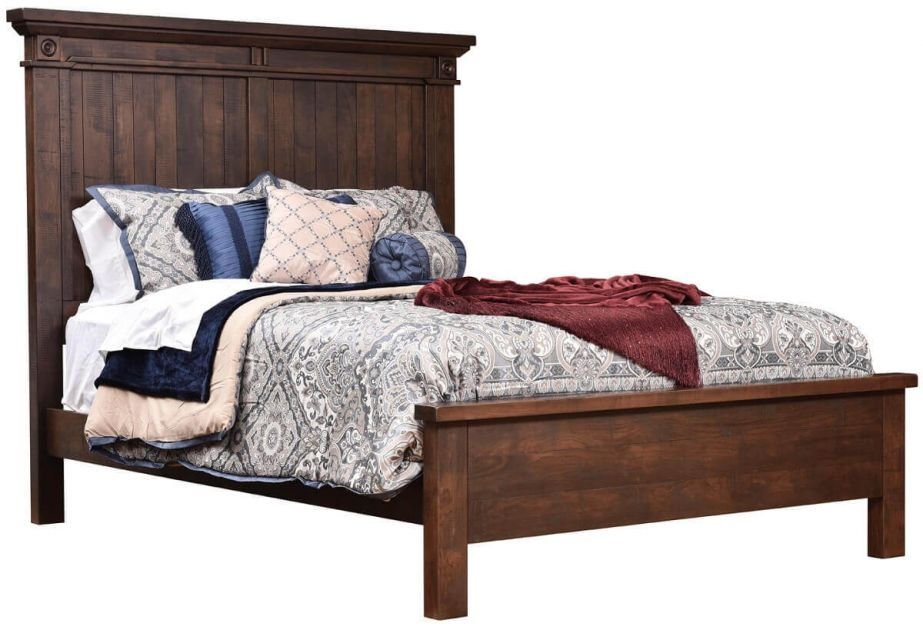 Beechwood Panel Bed Countryside Amish Furniture Furniture